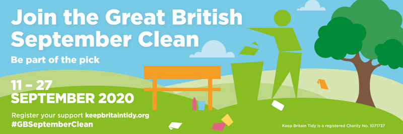 Great British September clean logo