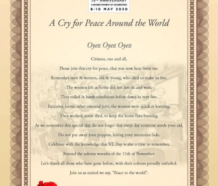 Cry-for-peace-around-the-world-cert-for-Town-Crier