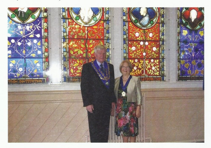 Mayor and Mayoress of Westbury