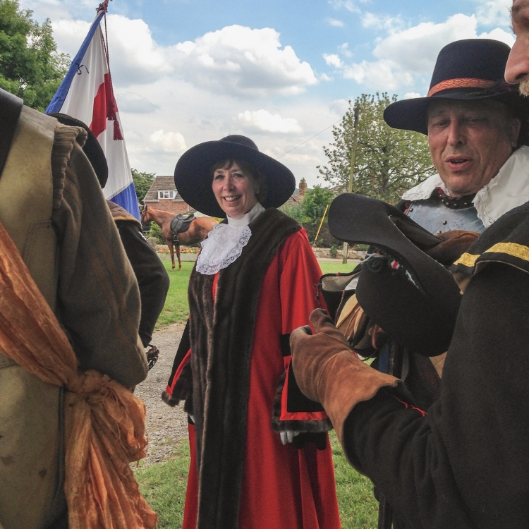 Mayor at Battle of Marlborough