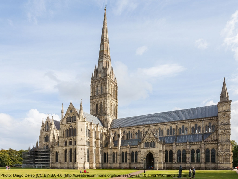 Salisbury Cathedral attributed