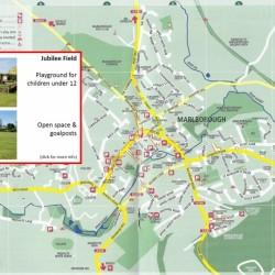 location map jubilee field