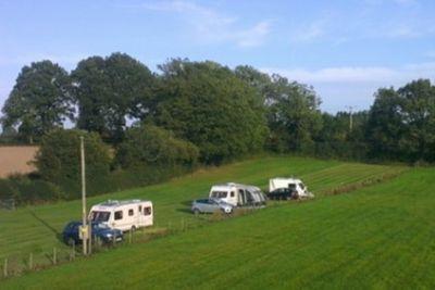 Caravan Site at Bayardo Farm