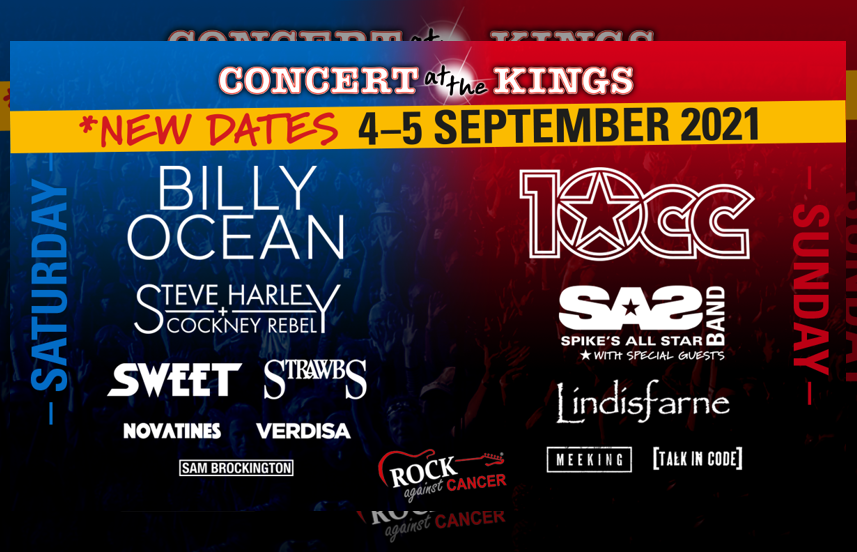 4 & 5 September 2021 - Concert at The Kings