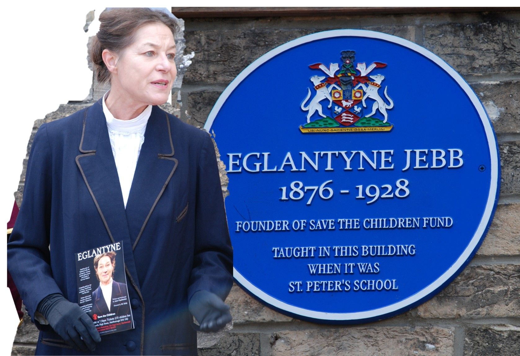 Blue Plaque for Eglantyne Jebb