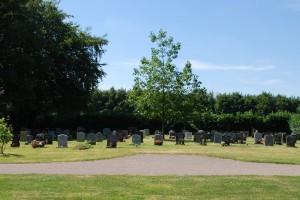 Burials & cemetery